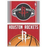 "Houston Rockets Rectangle Magnet, 2pack 2"" x 3"""