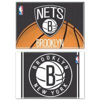 "Brooklyn Nets Rectangle Magnet, 2pack 2"" x 3"""