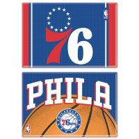 """Philadelphia 76ers Rectangle Magnet, 2pack 2"""" x 3"""""""