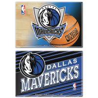 "Dallas Mavericks Rectangle Magnet, 2pack 2"" x 3"""