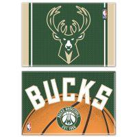 "Milwaukee Bucks Rectangle Magnet, 2pack 2"" x 3"""