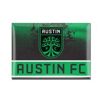 "Austin FC Metal Magnet 2.5"" x 3.5"""
