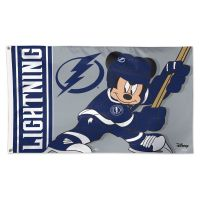 Tampa Bay Lightning / Disney DISNEY Flag - Deluxe 3' X 5'