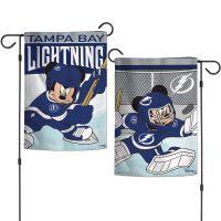 "Tampa Bay Lightning / Disney DISNEY Garden Flags 2 sided 12.5"" x 18"""