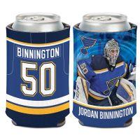 St. Louis Blues Can Cooler 12 oz. Jordan Binnington