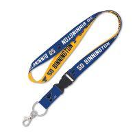 "St. Louis Blues Lanyard w/detachable buckle 1"" Jordan Binnington"