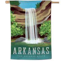 """State / Arkansas Vertical Flag 28"""" x 40"""""""