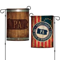 "State / Pennsylvania Garden Flags 2 sided 12.5"" x 18"""