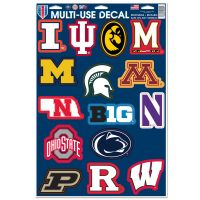 """Big Ten Conference Multi-Use Decal 11"""" x 17"""""""