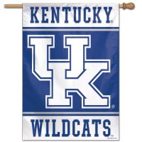 "Kentucky Wildcats Vertical Flag 28"" x 40"""