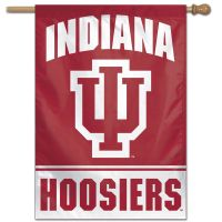 "Indiana Hoosiers Vertical Flag 28"" x 40"""