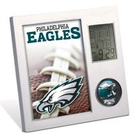 Philadelphia Eagles Desk Clock