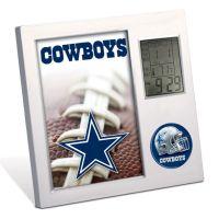 Dallas Cowboys Desk Clock