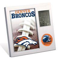 Denver Broncos Desk Clock