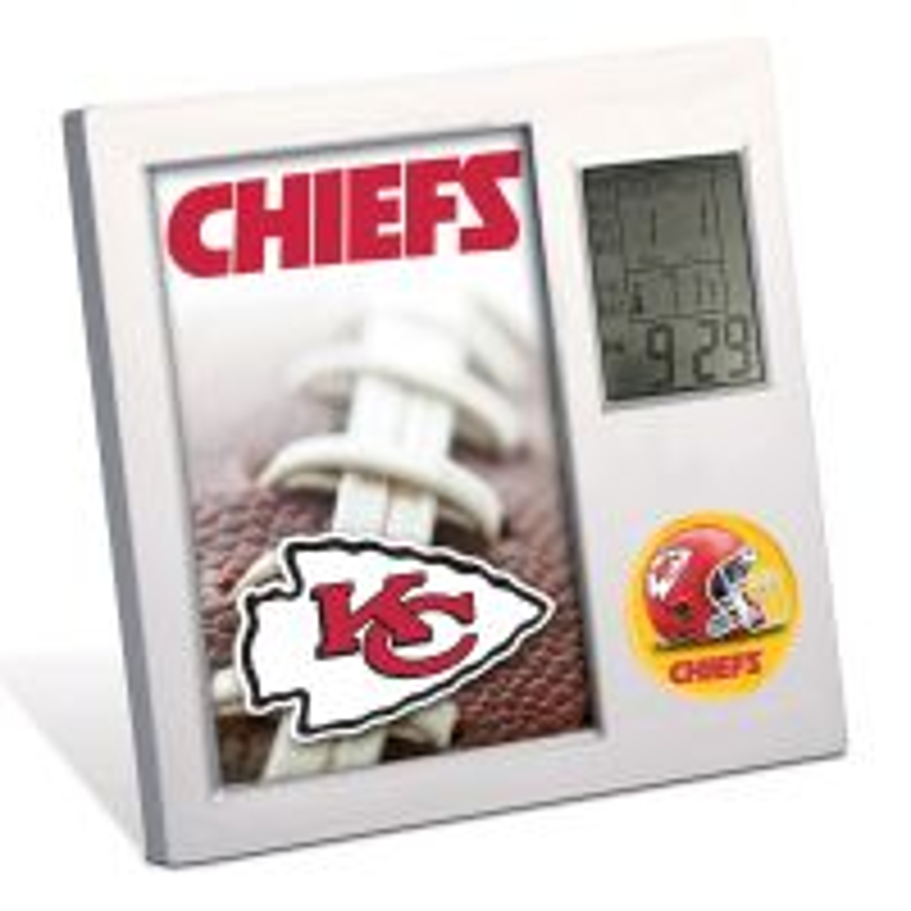 Kansas City Chiefs Desk Clock