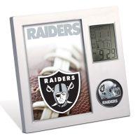Las Vegas Raiders Desk Clock
