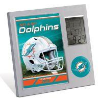 Miami Dolphins Desk Clock