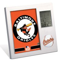 Baltimore Orioles Desk Clock
