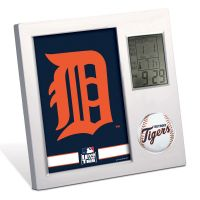 Detroit Tigers Desk Clock