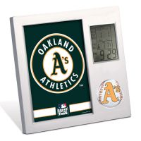 Oakland A's Desk Clock