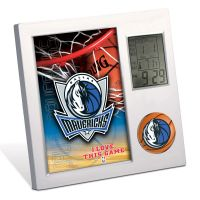 Dallas Mavericks Desk Clock