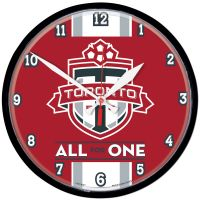 Toronto FC ALL FOR ONE Round Wall Clock 12.75""
