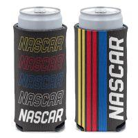 NASCAR Logo 12 oz Slim Can Cooler