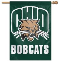 "Ohio Bobcats Vertical Flag 28"" x 40"""