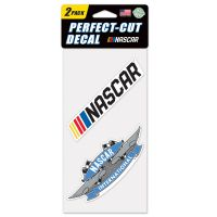 """NASCAR Logo Perfect Cut Decal Set of two 4""""x4"""""""