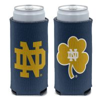 Notre Dame Fighting Irish LOGO 12 oz Slim Can Cooler