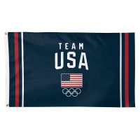 USOC Team USA Logo Flag - Deluxe 3' X 5'