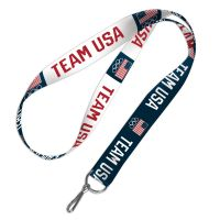 """USOC Team USA Logo Lanyard 1"""""""