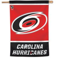"Carolina Hurricanes Vertical Flag 28"" x 40"""