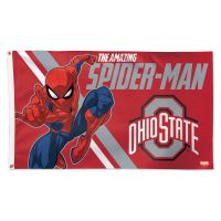 Ohio State Buckeyes / Marvel (c) 2021 MARVEL Flag - Deluxe 3' X 5'