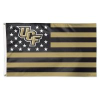 UCF Knights / Stars and Stripes NCAA Flag - Deluxe 3' X 5'