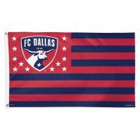 FC Dallas / Patriotic Americana Flag - Deluxe 3' X 5'