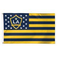Los Angeles Galaxy / Patriotic Americana Flag - Deluxe 3' X 5'
