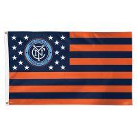 New York City FC / Patriotic Americana Flag - Deluxe 3' X 5'