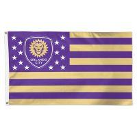 Orlando City SC / Patriotic Americana Flag - Deluxe 3' X 5'