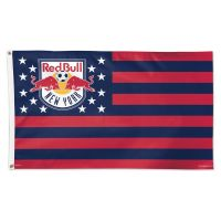 New York Red Bulls / Patriotic Americana Flag - Deluxe 3' X 5'