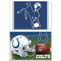 "Indianapolis Colts Rectangle Magnet, 2pack 2"" x 3"""