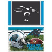 """Carolina Panthers Rectangle Magnet, 2pack 2"""" x 3"""""""
