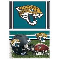 "Jacksonville Jaguars Rectangle Magnet, 2pack 2"" x 3"""