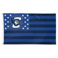 Creighton Bluejays / Stars and Stripes NCAA Flag - Deluxe 3' X 5'