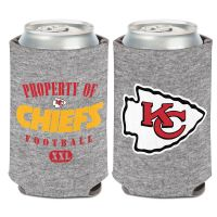 Kansas City Chiefs Heather Can Cooler 12 oz.