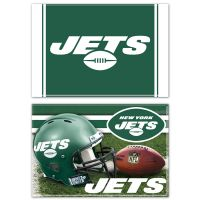 "New York Jets Rectangle Magnet, 2pack 2"" x 3"""
