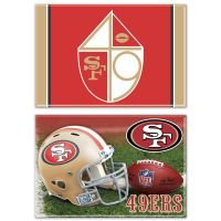 "San Francisco 49ers Rectangle Magnet, 2pack 2"" x 3"""