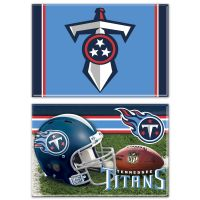 "Tennessee Titans Rectangle Magnet, 2pack 2"" x 3"""