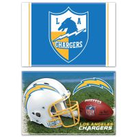 """Los Angeles Chargers Rectangle Magnet, 2pack 2"""" x 3"""""""