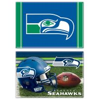"Seattle Seahawks Rectangle Magnet, 2pack 2"" x 3"""